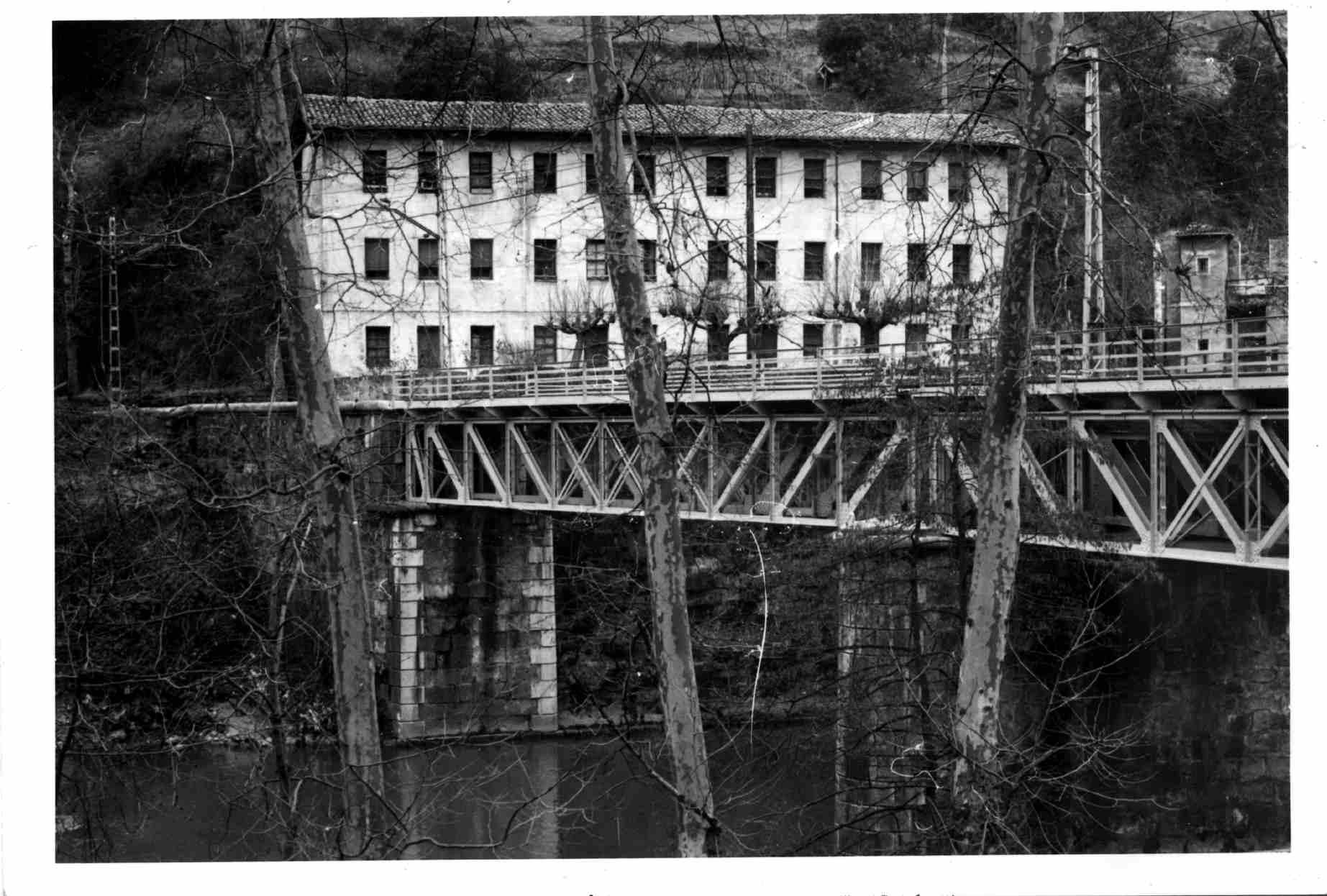 1978. Las casas de los ferroviarios (construidas en 1925, ampliadas en 1942).