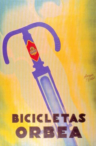 Cartel de Orbea realizado por Aníbal Tejada, año 1933