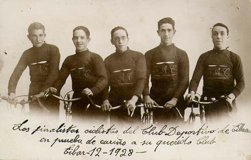 Ciclistas del GAC