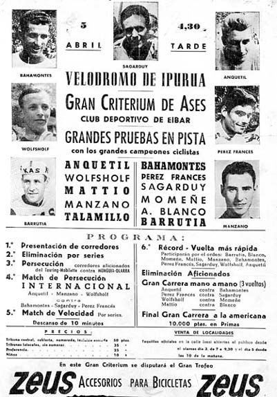 Criterium en el año 1962