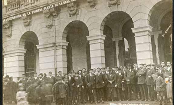 Inauguración de la Casa del Pueblo de Eibar