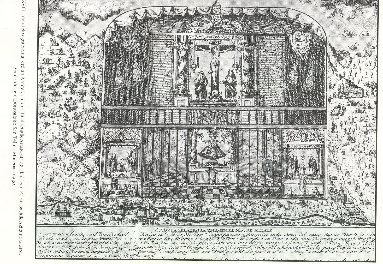 Grabado del Siglo XVIII.