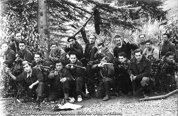 Batallón Amuategi, 1937.