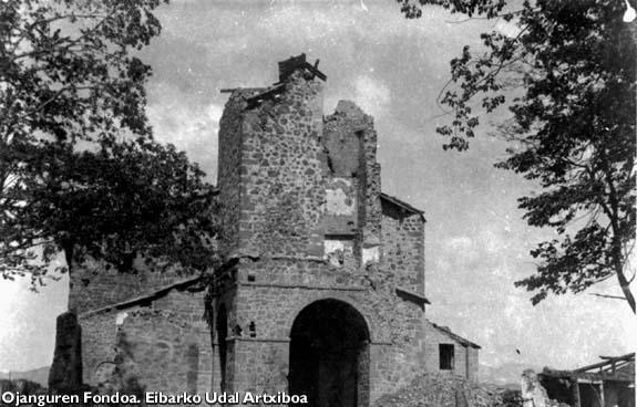 Santuario de Arrate, 1937.