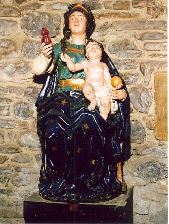 Virgen de Azitain tambien llamada del Palacio o Jauregikoa