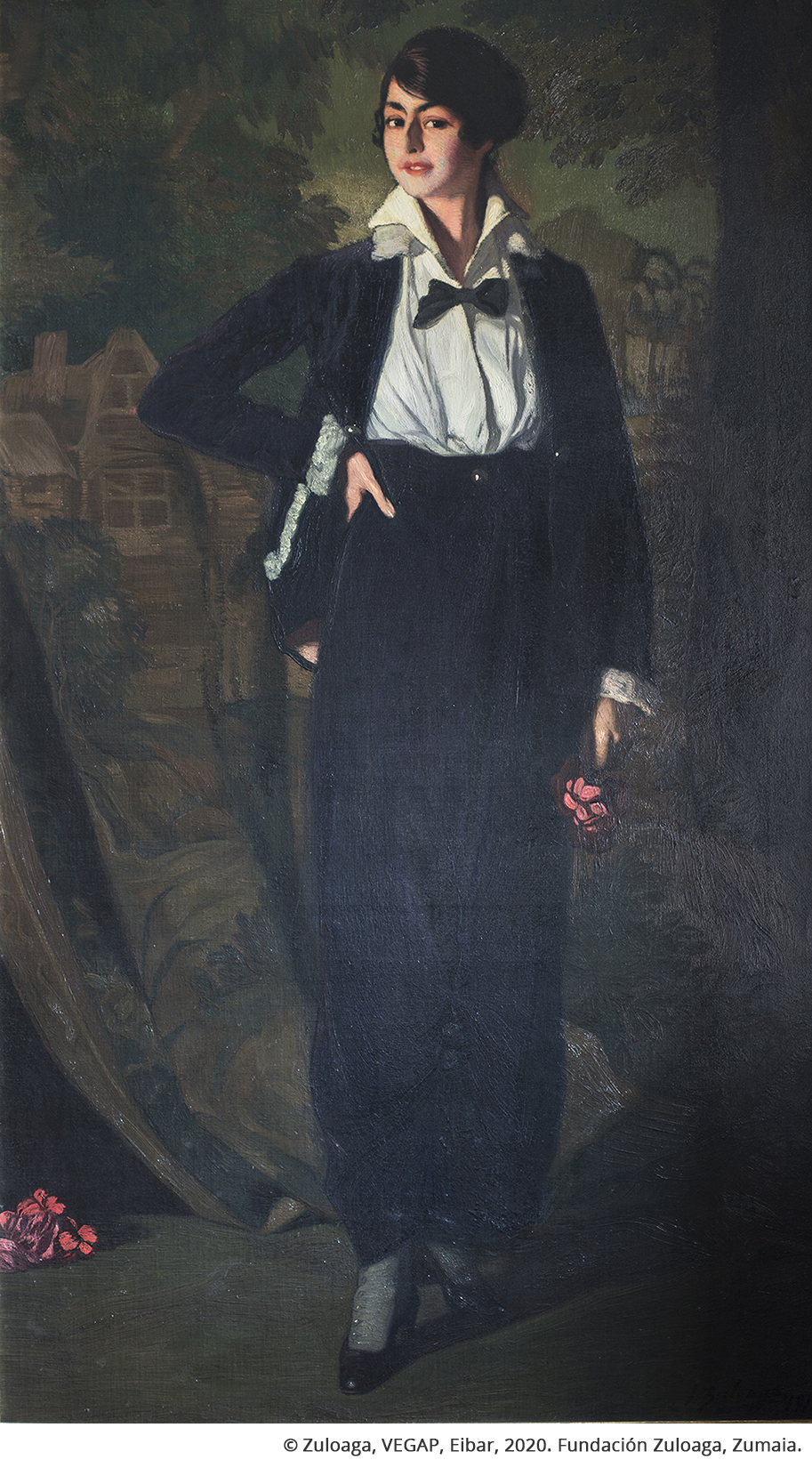 Mademoiselle Souty à la garçon