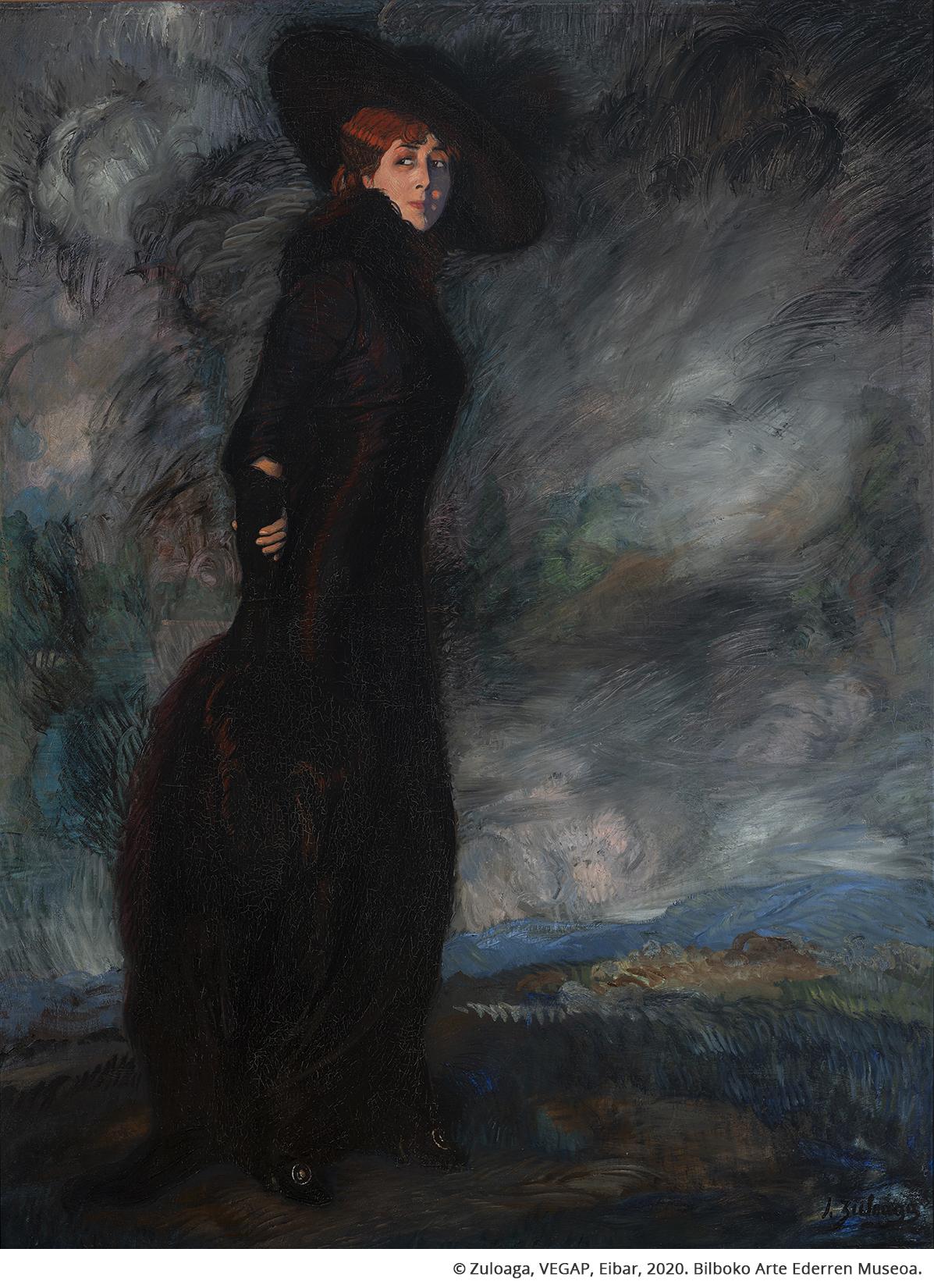 Retrato de Doña Adela de Quintana Moreno
