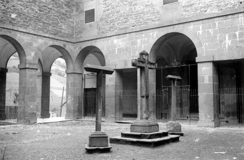 Claustro del convento de Isasi 1916