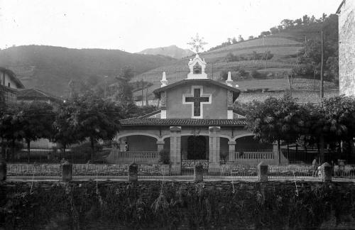 Iglesia de los Orbea en Urkizu 1927