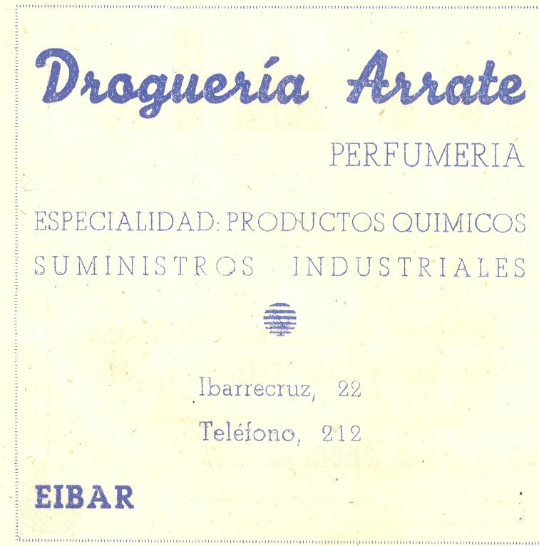 33) Droguería Arrate
