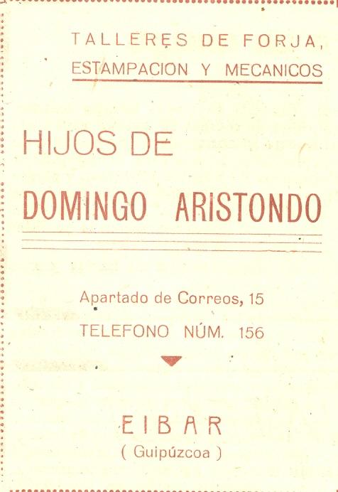 55) Hijos de Domingo Aristondo