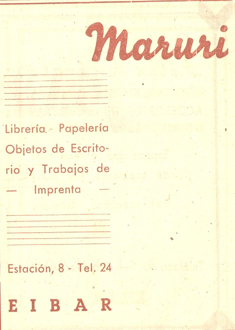 73) Librería-papelería Maruri