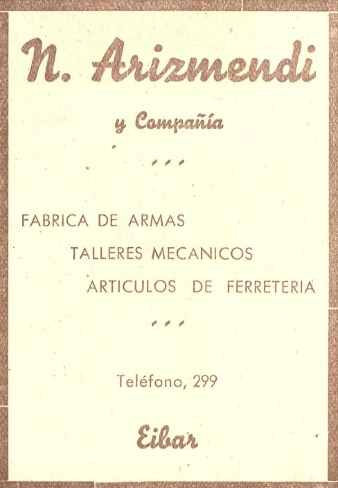 85) n. Arizmendi y Compañía