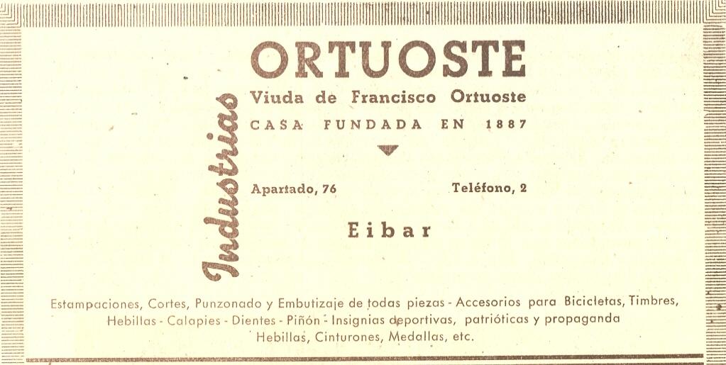89) Ortuoste