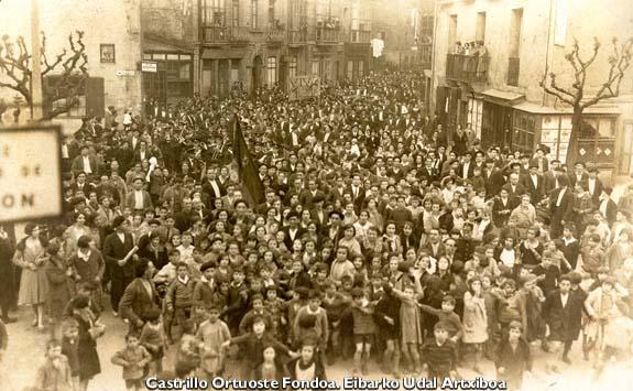 14 de Abril de 1931,  Proclamación de la II República