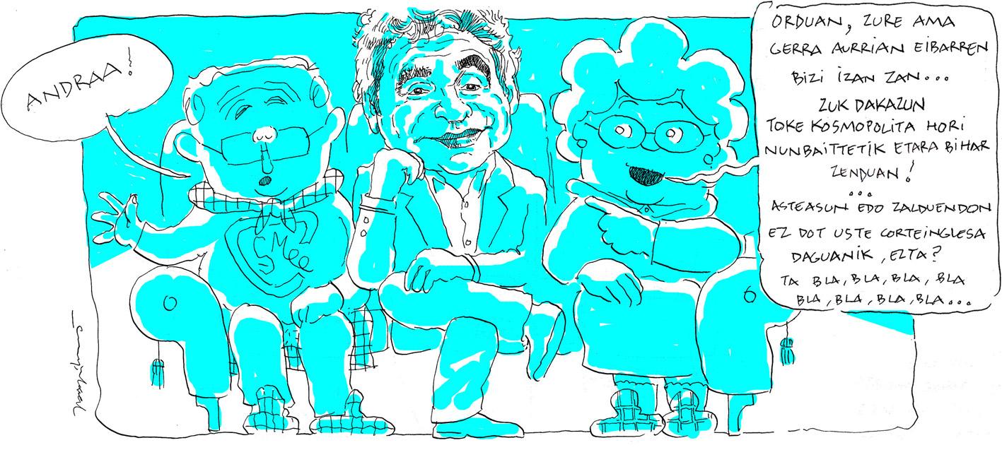 Atxagaren komiki-zinta