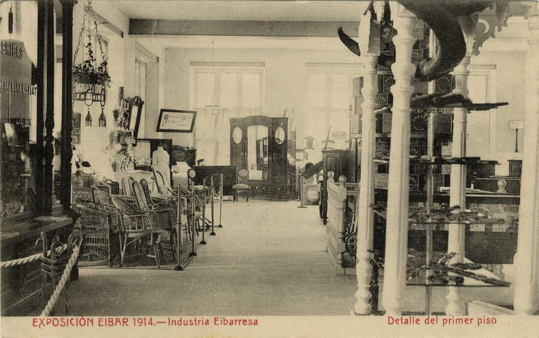 Arte eta industrien erakusketa, Eibar 1914 (01)