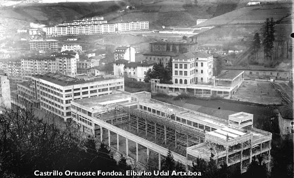 Alfaren pabiloi berriak. 1953.
