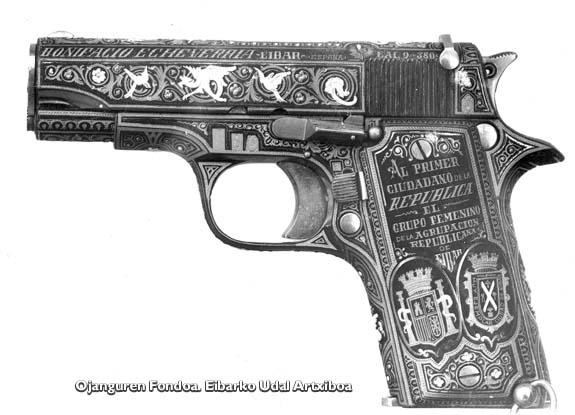 Niceto Alcala Zamorari oparitutako pistola