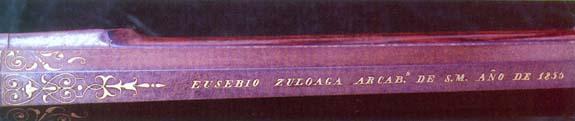 E. Zuloagaren ataujia lana
