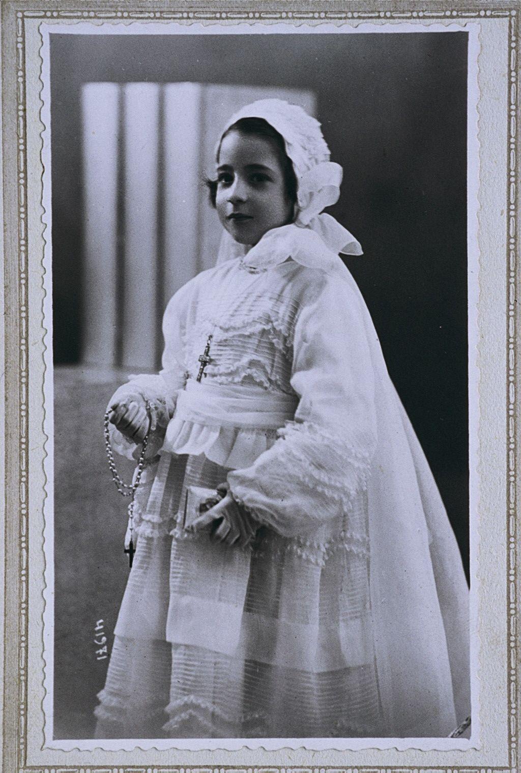 Garbiñe Gisasola. Data: 1940