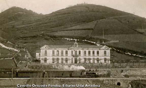 San Andres Residentzia zaharra, 1910 inguruan.