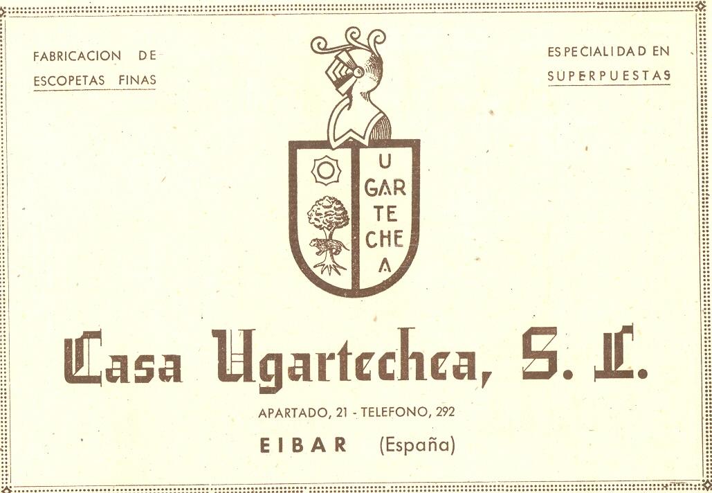 29) Casa Ugartechea, fabricación de escopetas finas