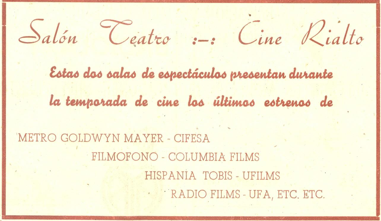 30) Cine Rialto