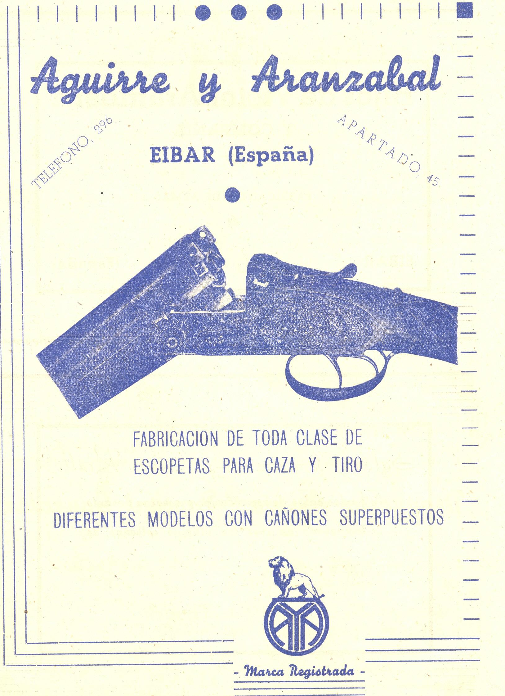4) Aguirre y Aranzabal