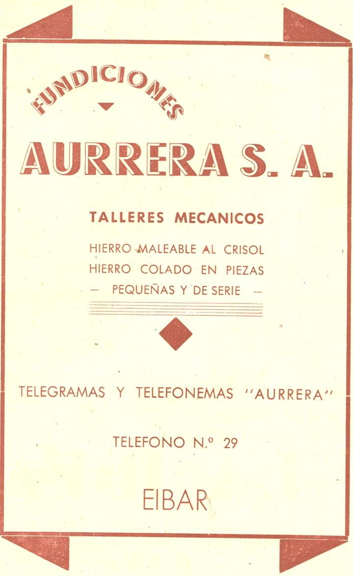 46) Fundiciones Aurrera