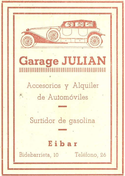 48) Garage Julian