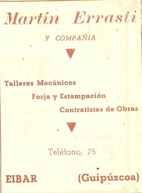 81) Martín Errasti y Compañía