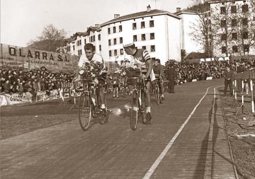 Jacques Anquetil, Bass Maliepard eta Guy Ignolin Ipuruan jarritako belodromoan (1963ko Vuelta)