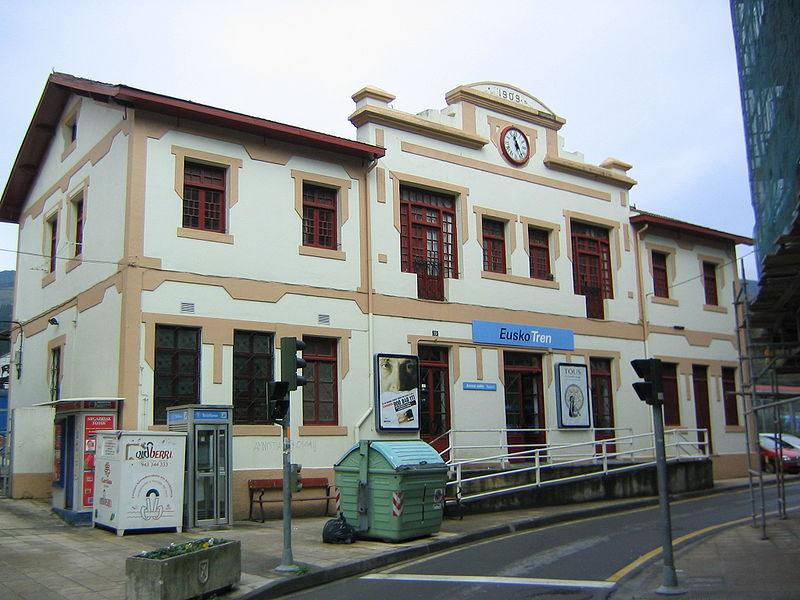 Eibarko tren geltokia