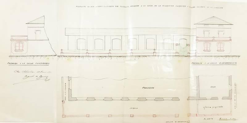 Eibarko ondare historikoaren aplikazioa - Aurrera planoa